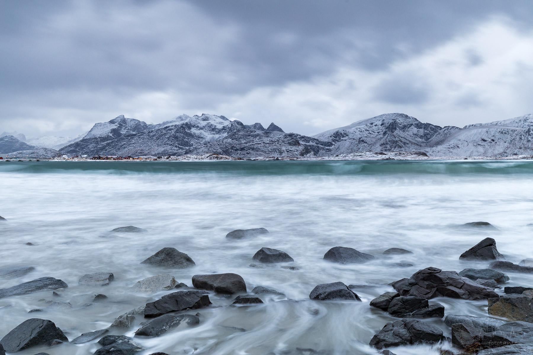 Ramberg beach, Norway