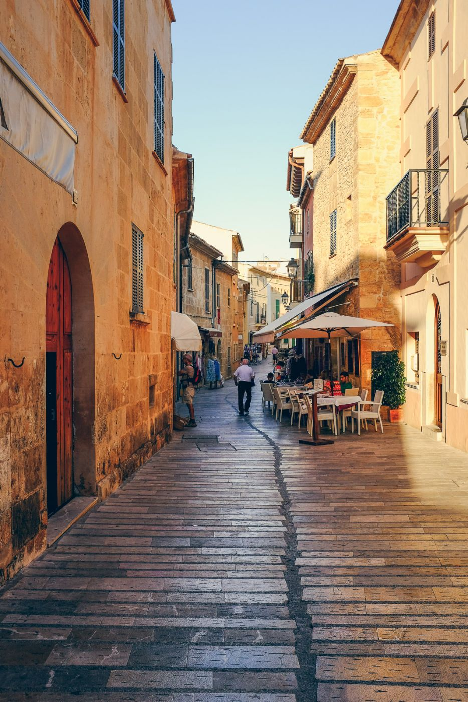 Streets of Alcúdia, Spain