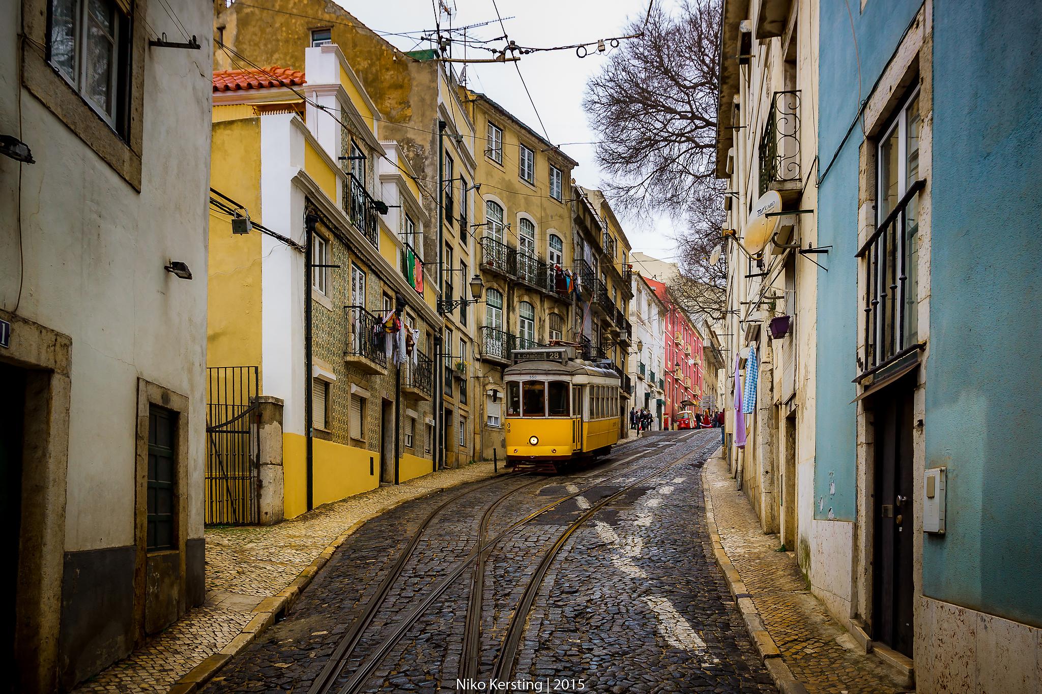 Tram 28, Portugal