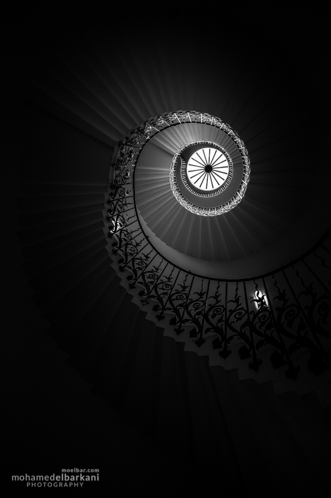 Tulip Staircase, Queen's House, Greenwich, United Kingdom