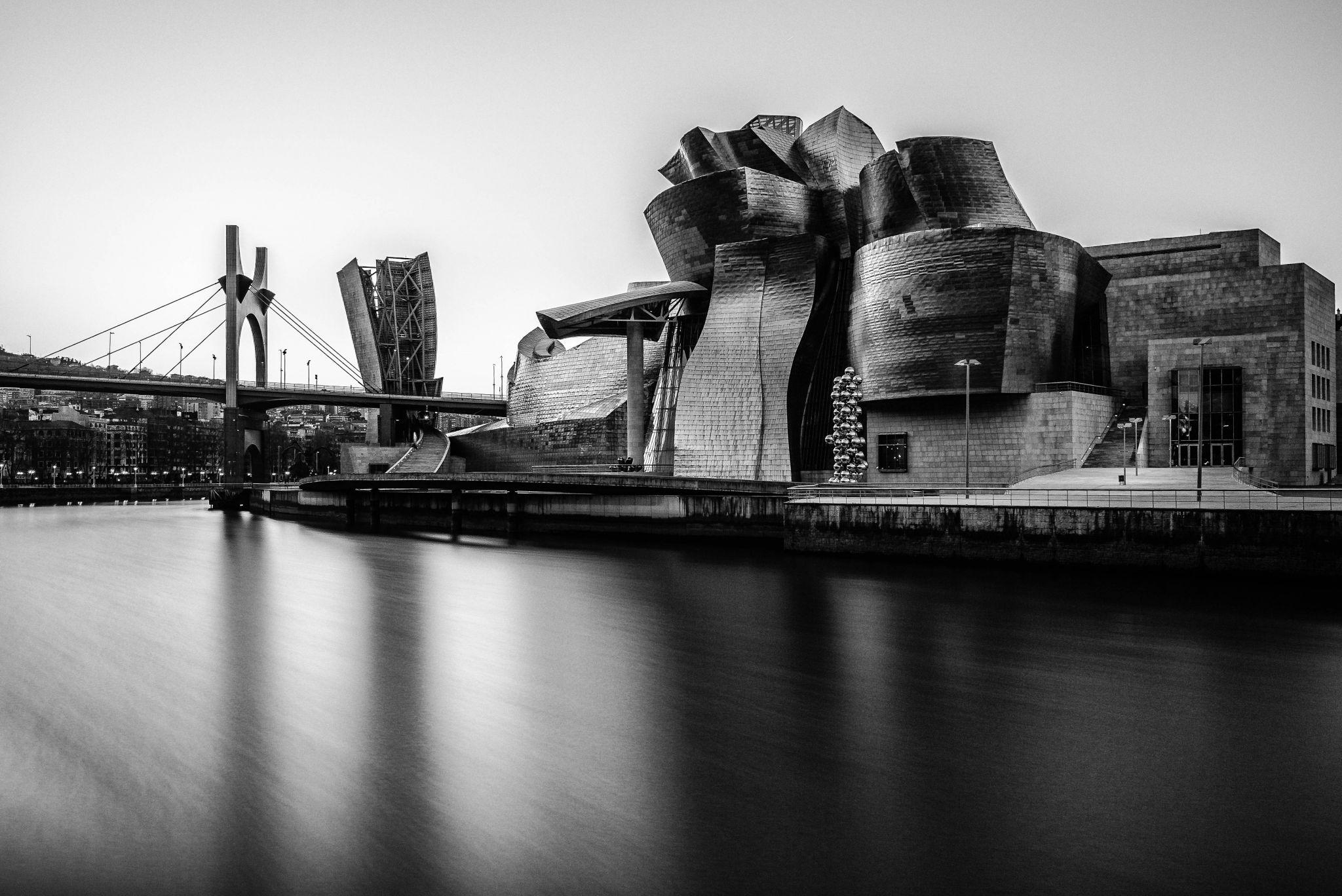 View of Guggenheim Museum, Spain