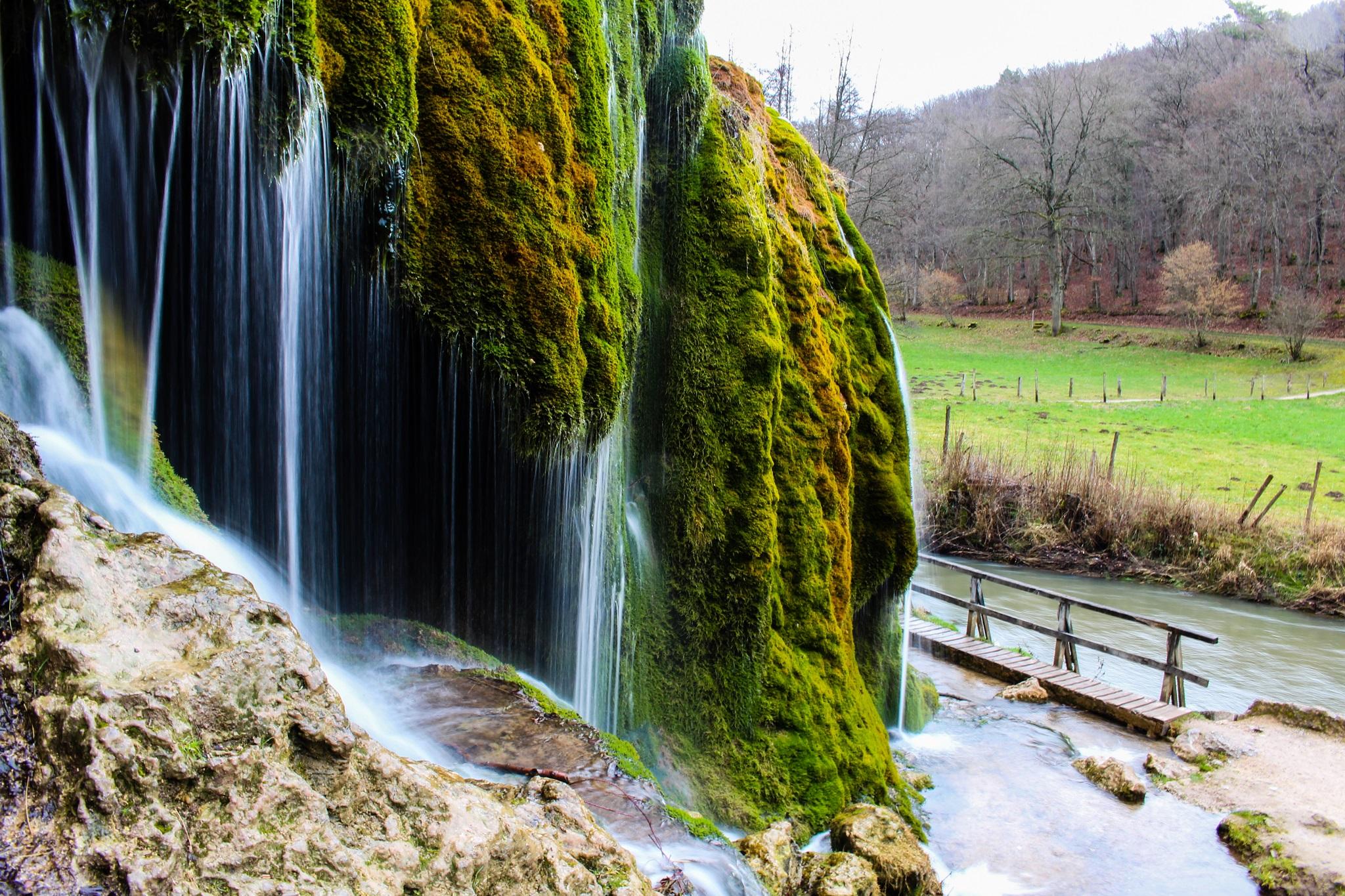Wasserfall Dreimühlen, Nohn, Germany