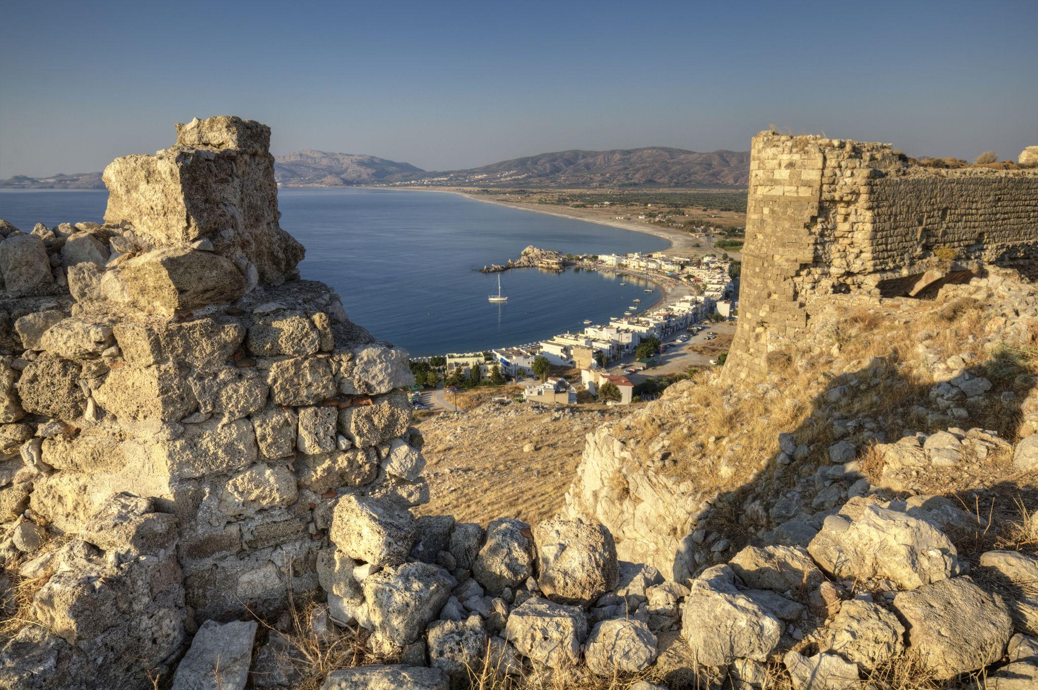 Feraklos castle ruins, Greece