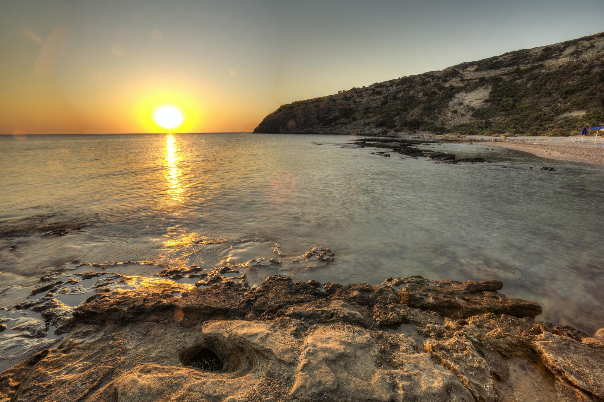 Faliraki beach, Greece