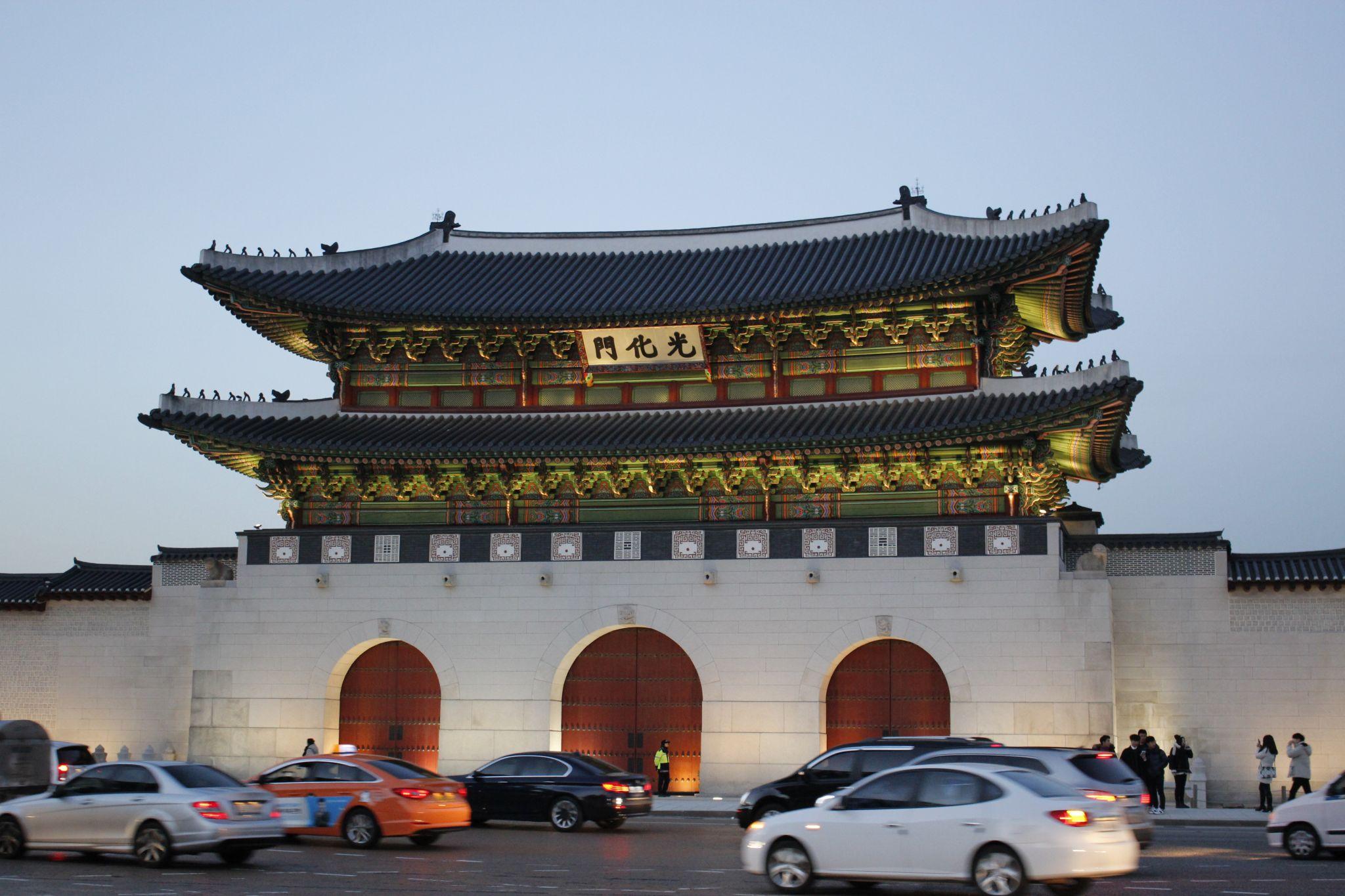 Gwanghwamun Gate, Korea
