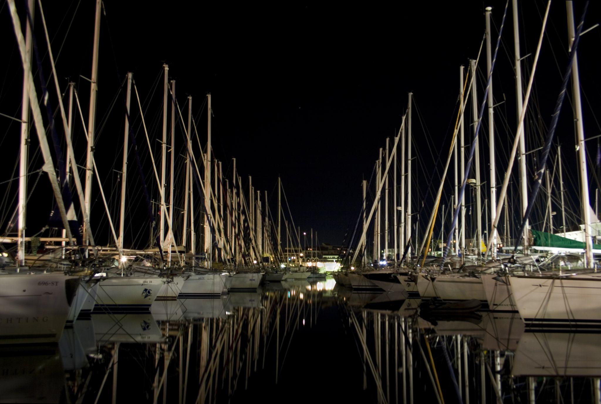 Korcula yacht port, Croatia