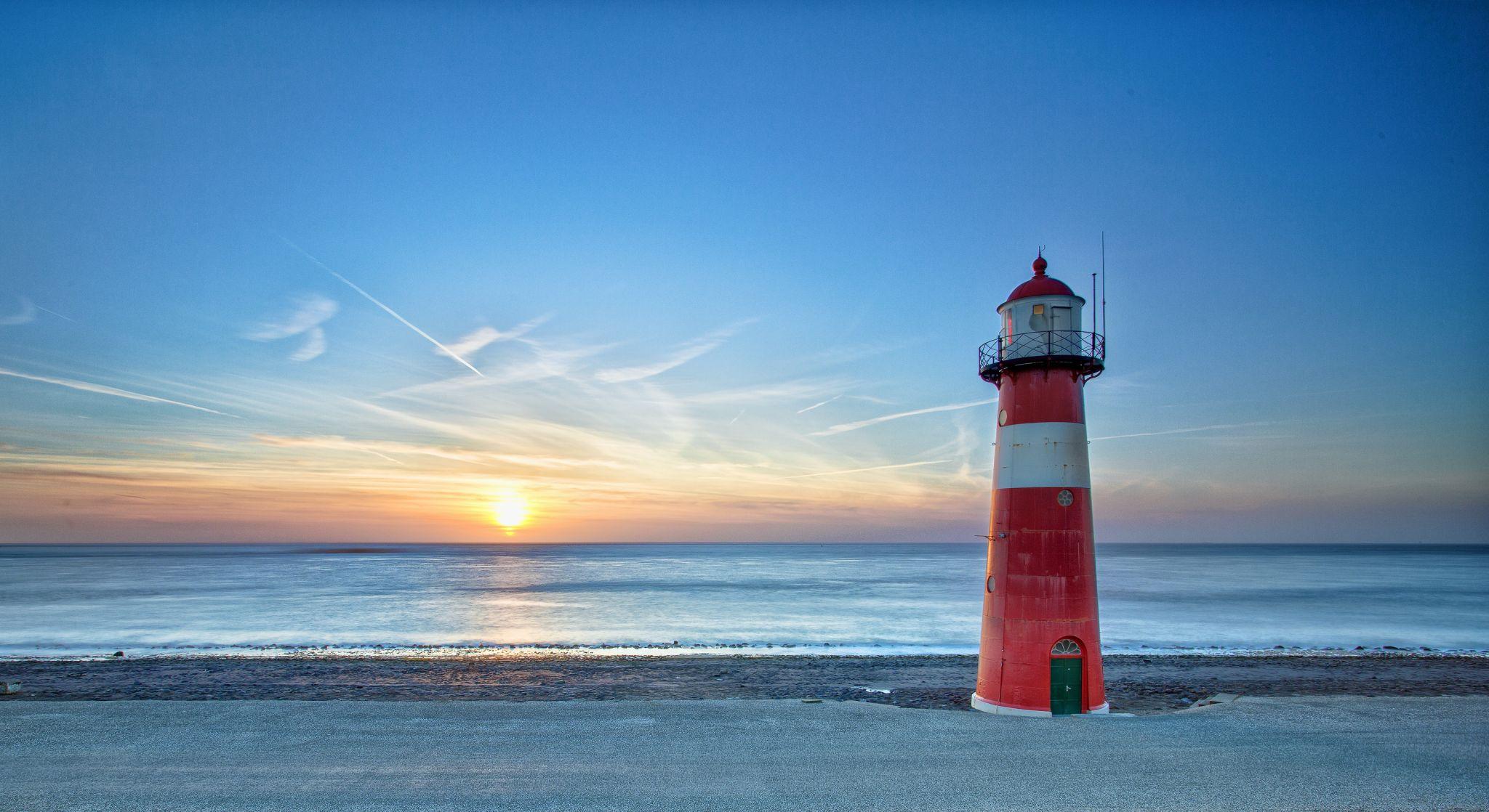 Lighthouse Westkapelle small, Netherlands
