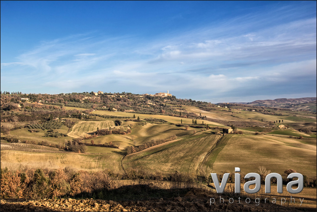 Pienza Valley, Tuscany, Italy, Italy