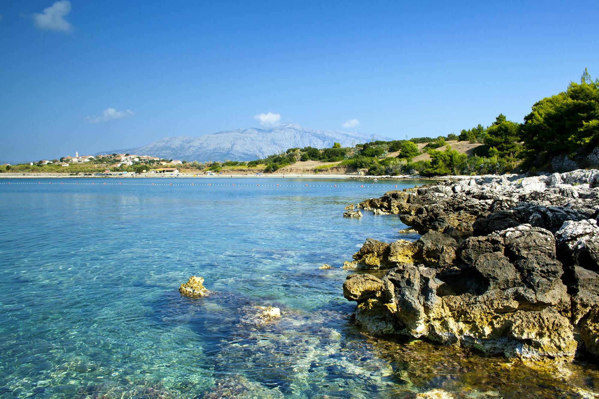 Przina bay, Korcula island, Croatia