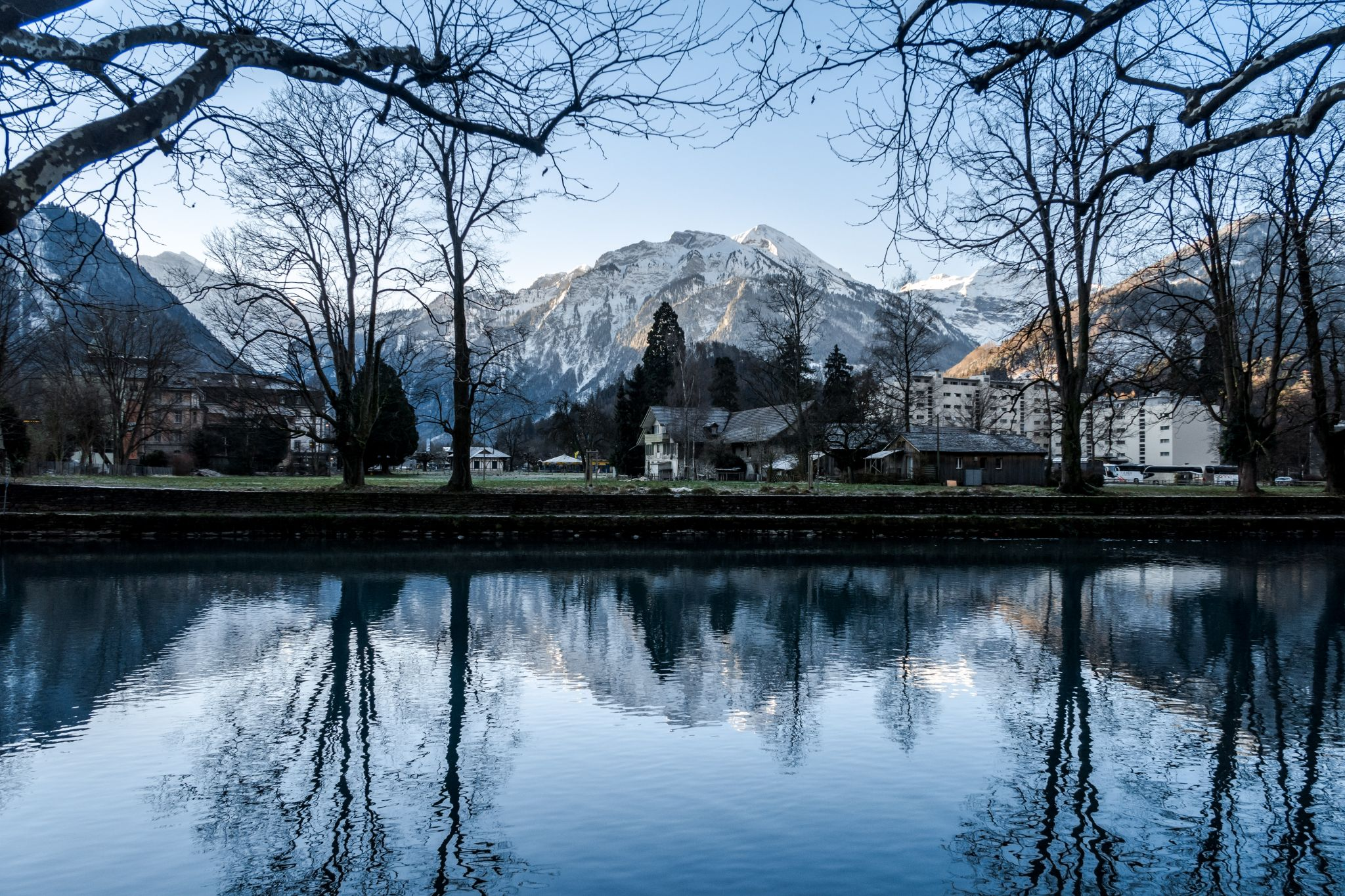 River Aare, Interlaken, Switzerland, Switzerland