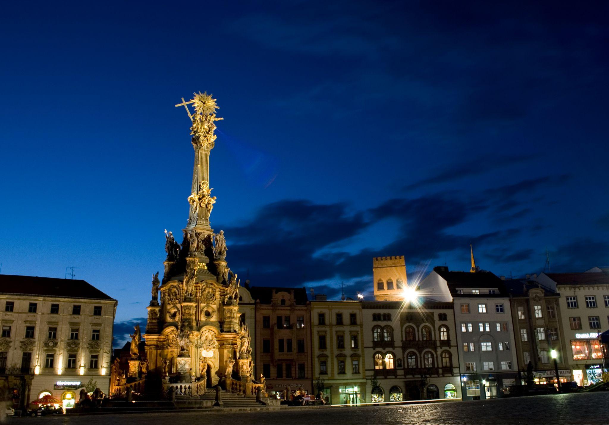 Sloup Nejsvětější Trojice Olomouc, Czech Republic