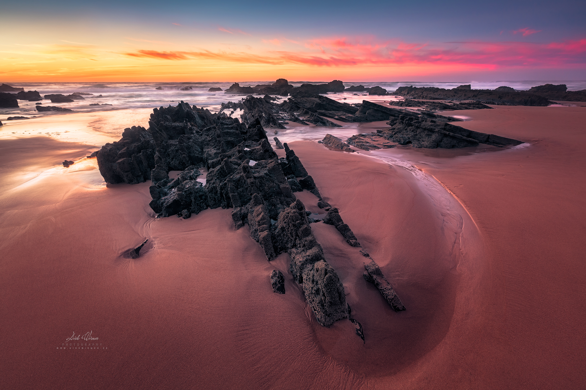 Tide Stones (Praia de Castelejo / Algarve), Portugal