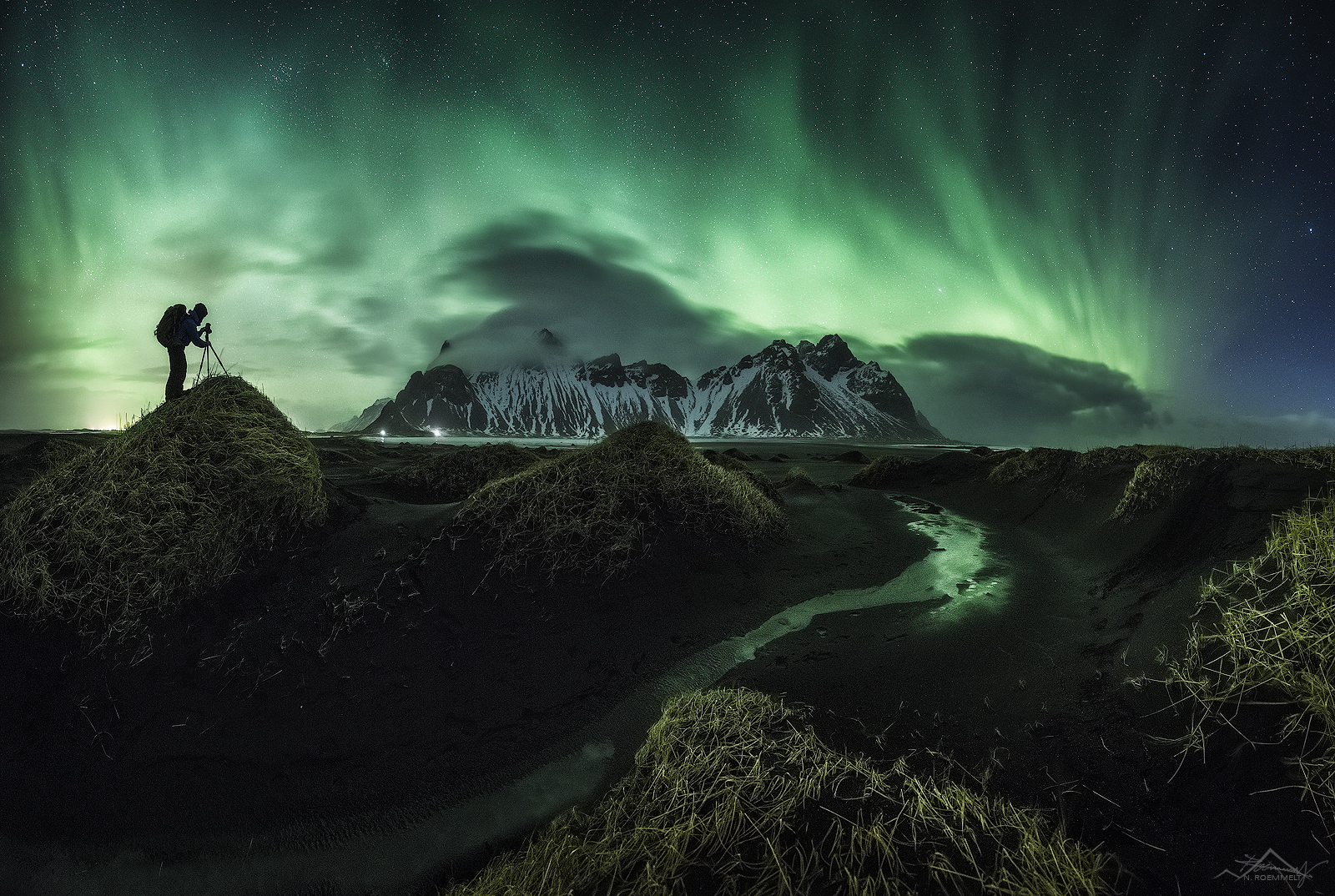 Vestrahorn nights, Iceland