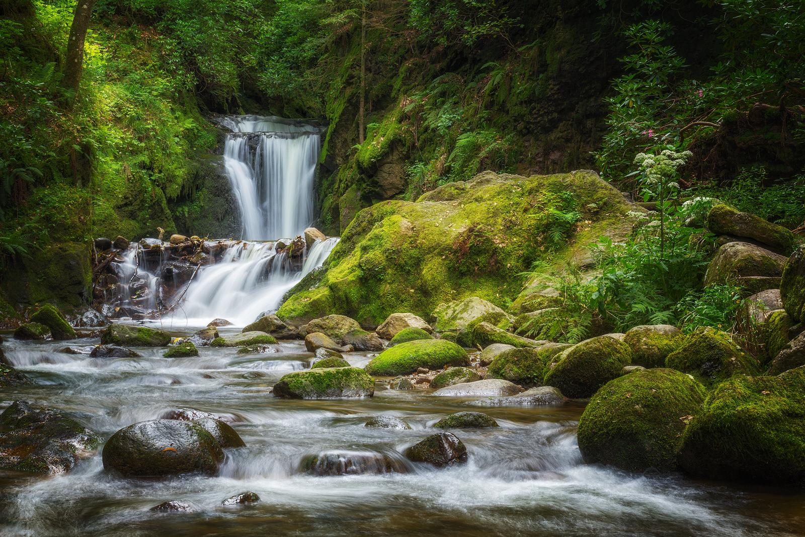 Geroldsauer Waterfall, Germany