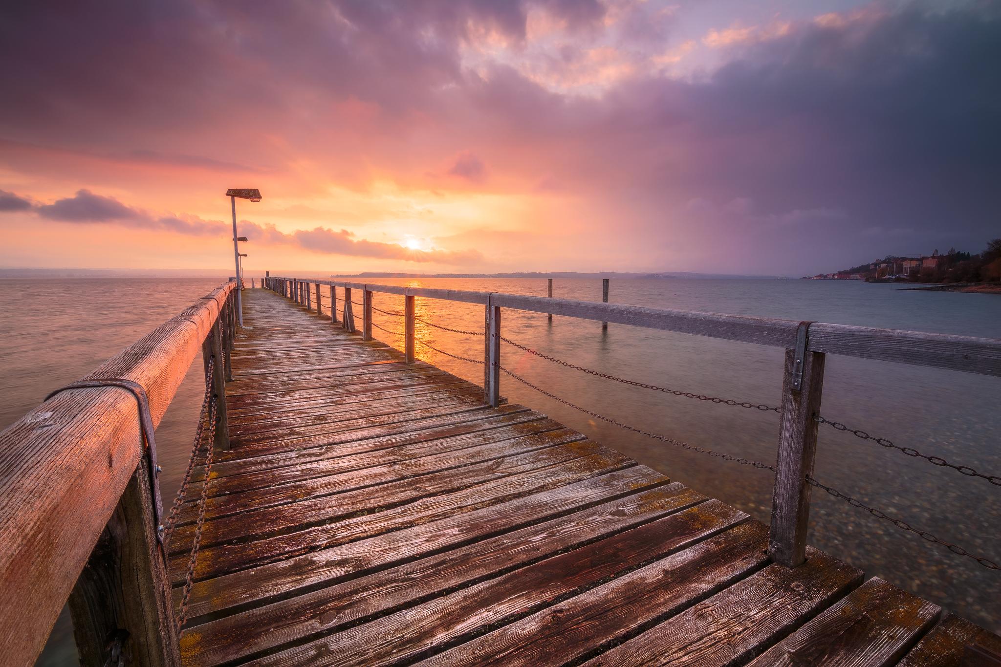Lake Constance Panorama, Germany