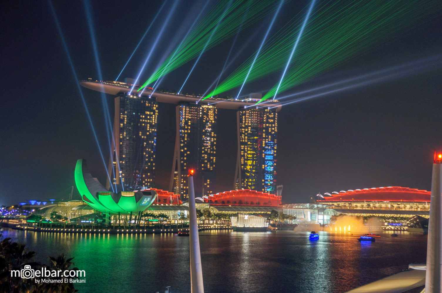 Marina Bay Sands Light Show, Singapore