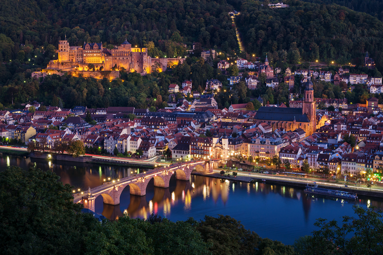 Philosophenweg, Heidelberg, Germany