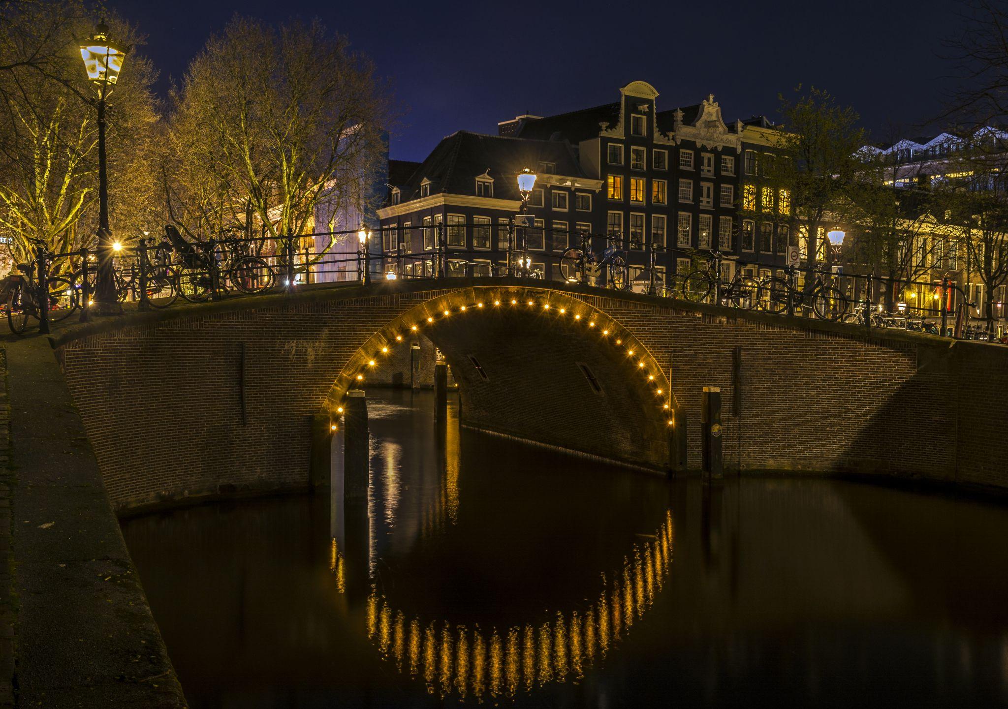 The Reguliersgracht Canal, Netherlands