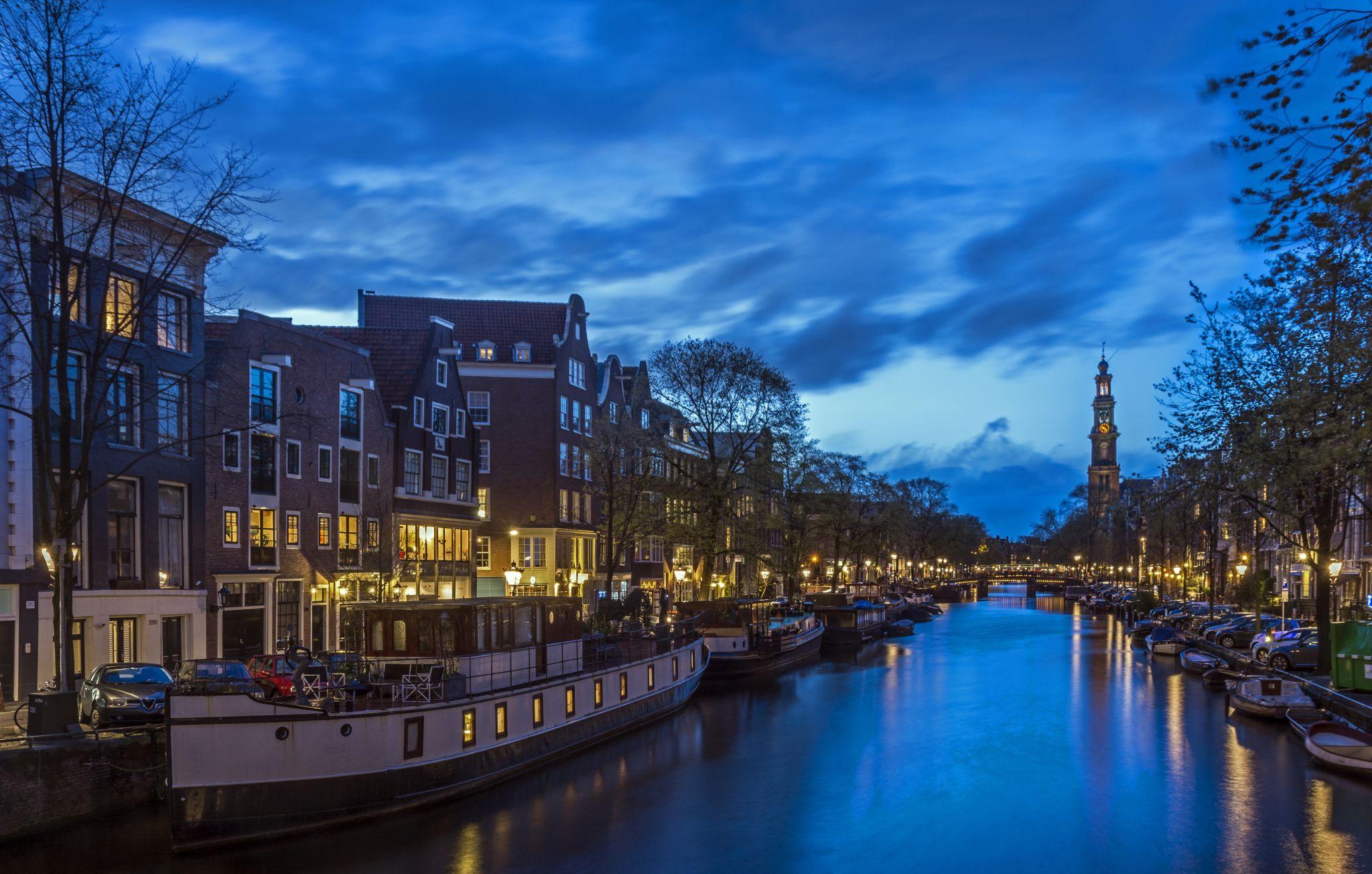 The Westerkerk in Amsterdam, Netherlands