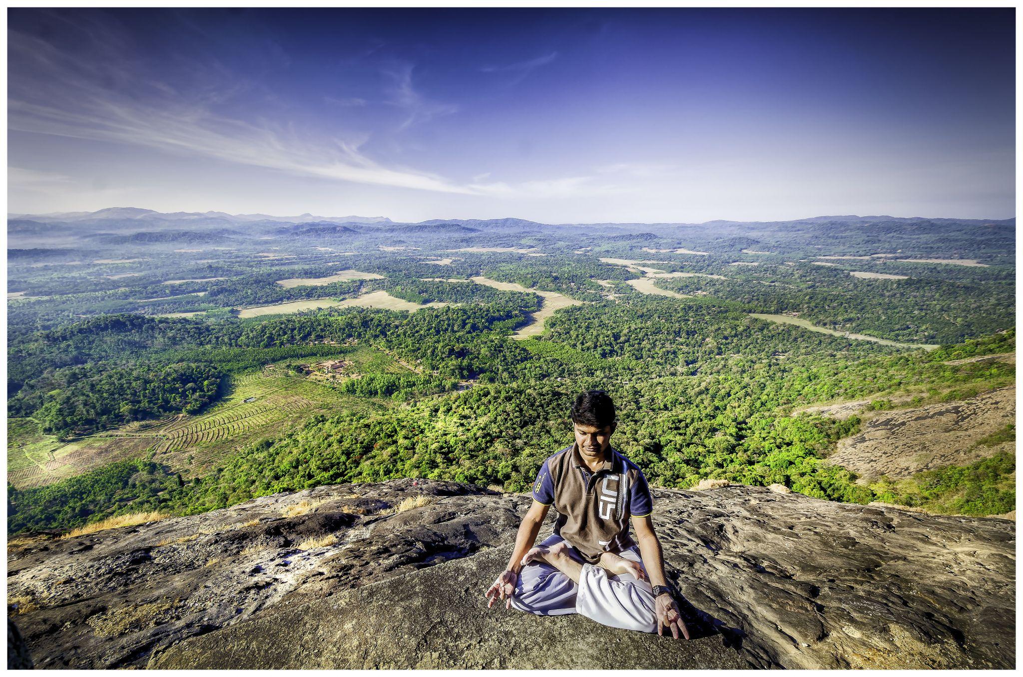 Yoga @ Kundadri, India