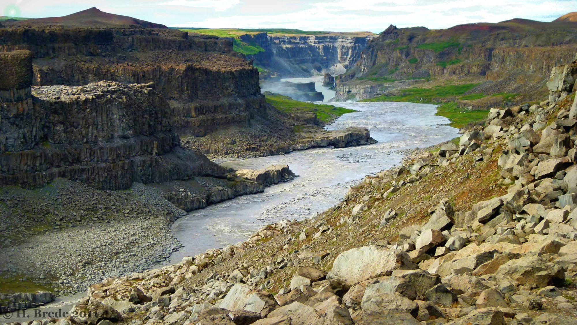 A River In Vatnajökull-Nationalpark, Iceland