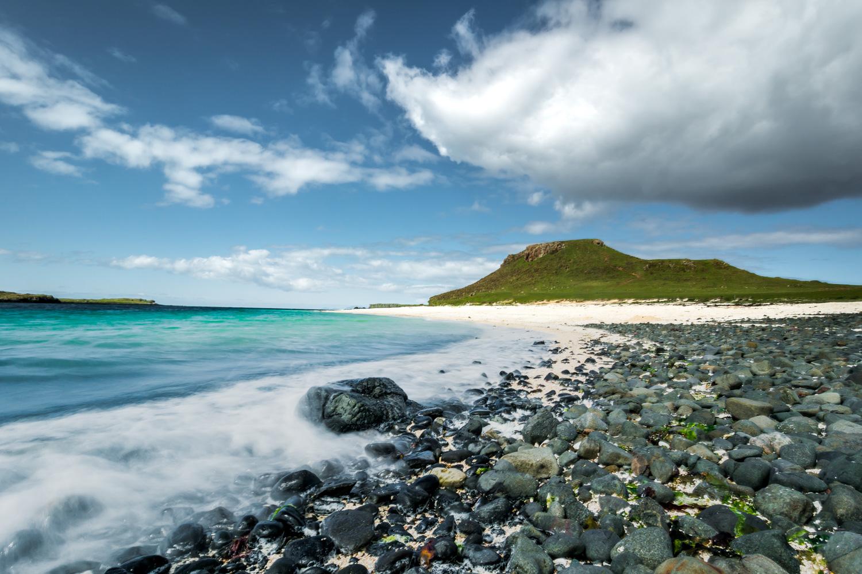 Coral Beach on the Isle of Skye, Scotland, United Kingdom