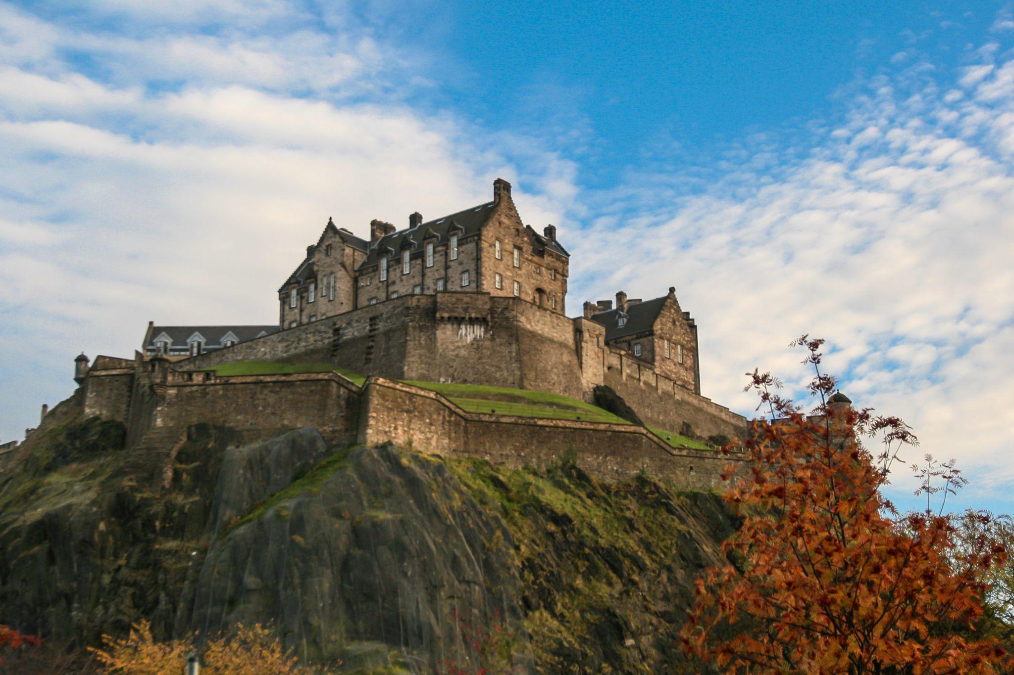 Edinburgh Castle, North West View, United Kingdom