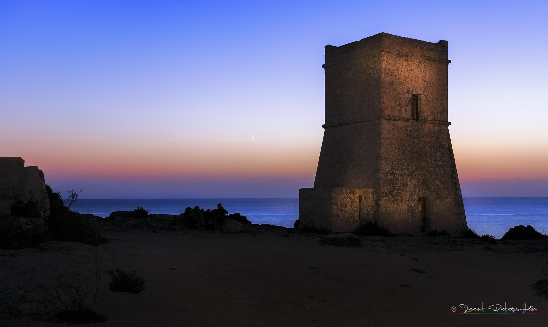Ghajn Tuffieha Tower, Malta