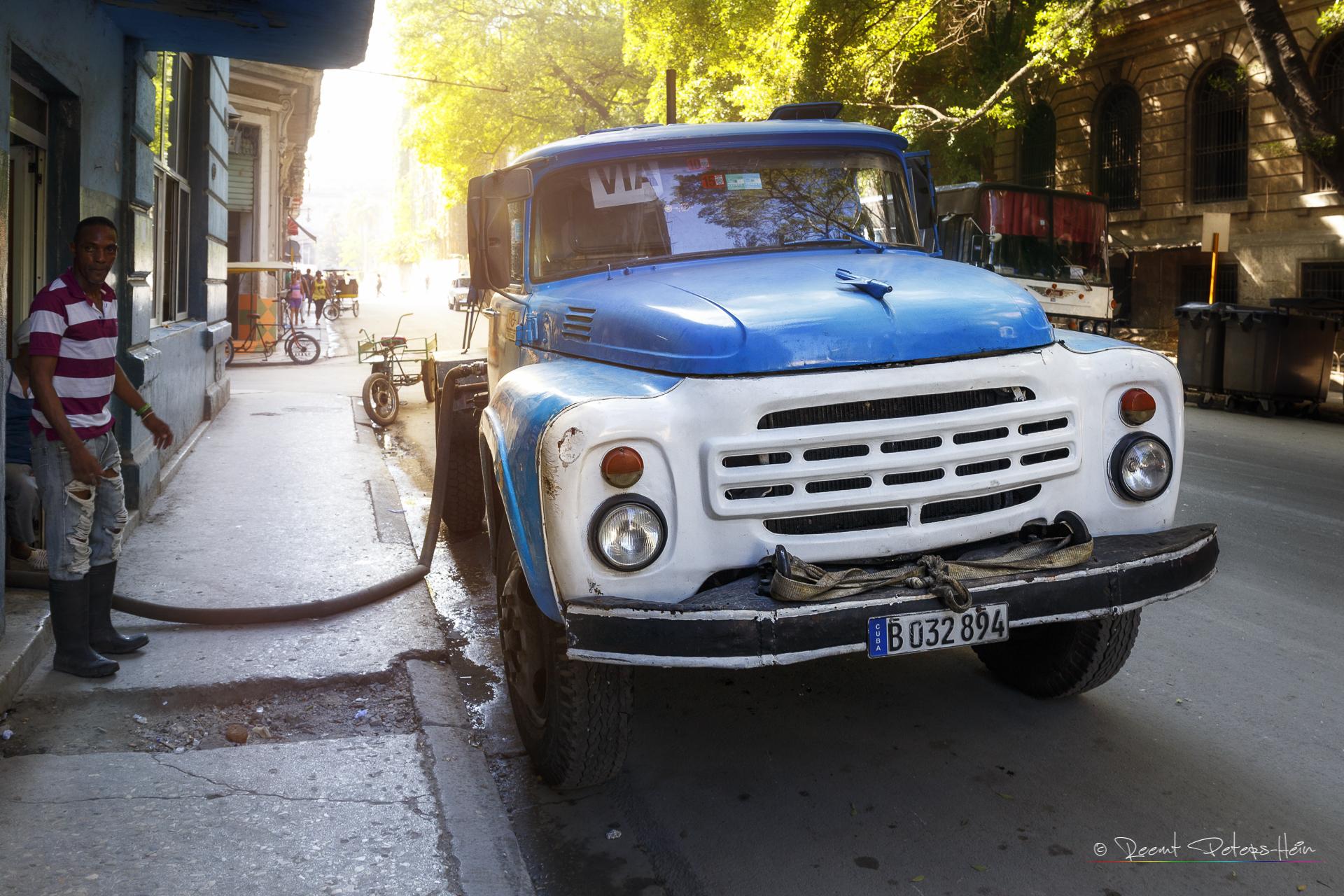 Old Truck in Havana, Cuba