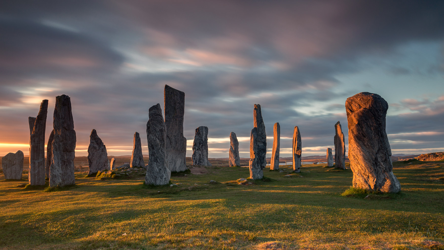 The Callanish Stones, United Kingdom