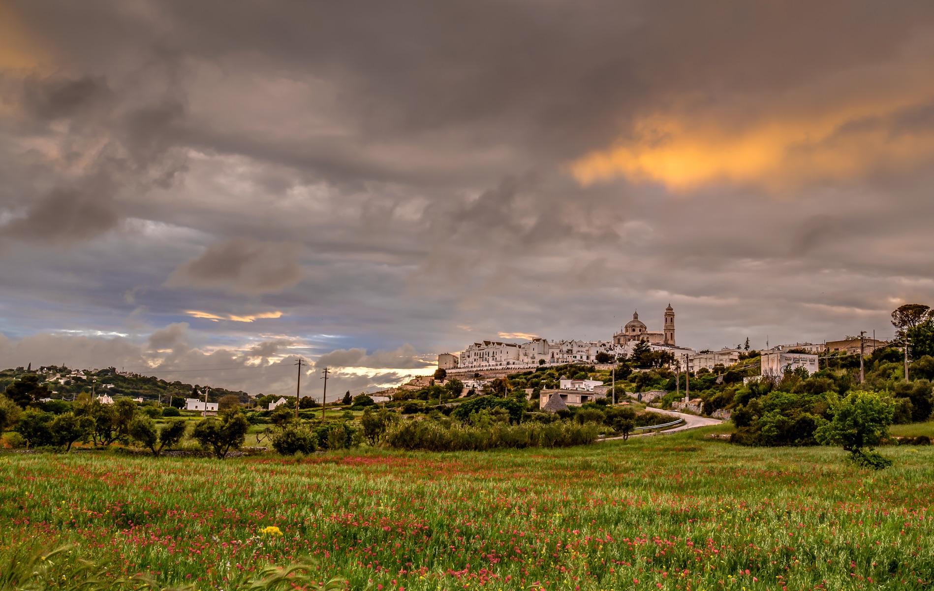 View of Locorotondo, Puglia, Italy