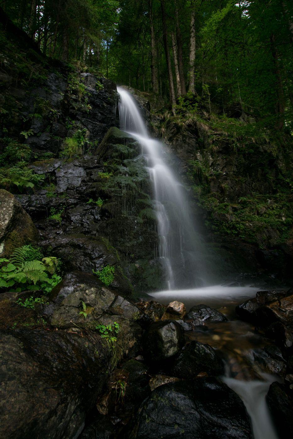 Zweribach Waterfall, Germany