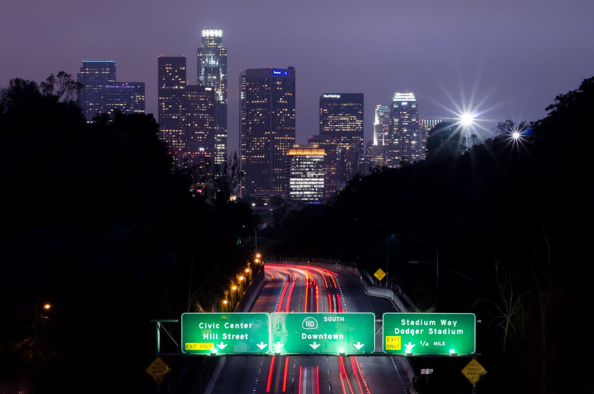 4th Street Bridge, Los Angeles, USA