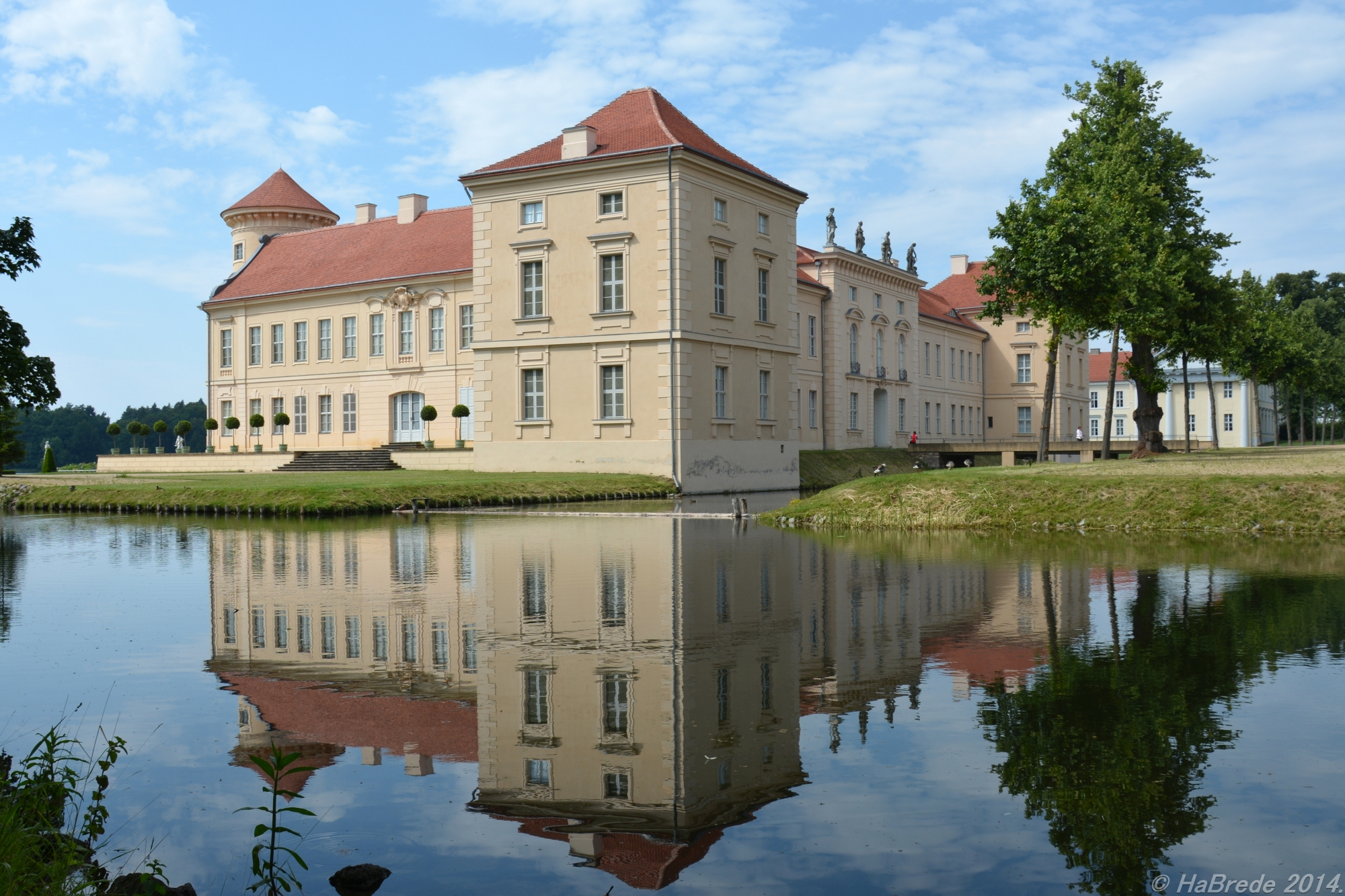 Another View of castle rheinsberg, Germany