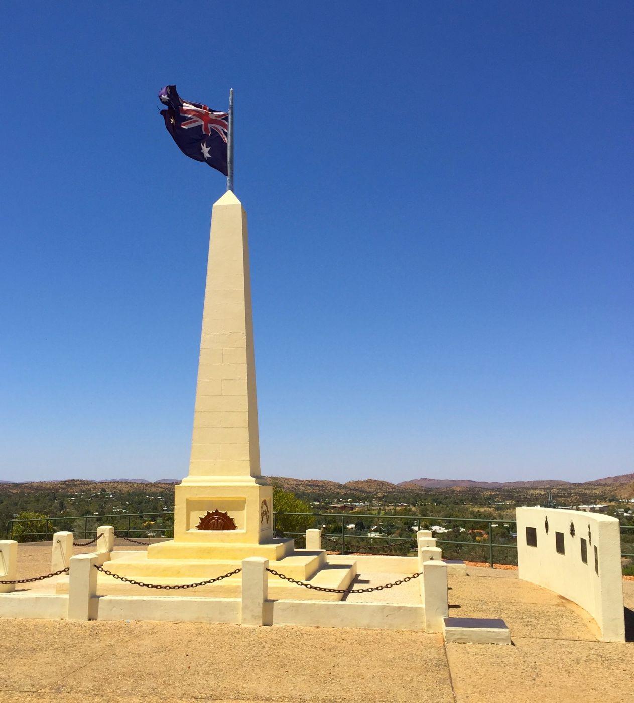 ANZAC Hill Lookout Alice Springs, Australia