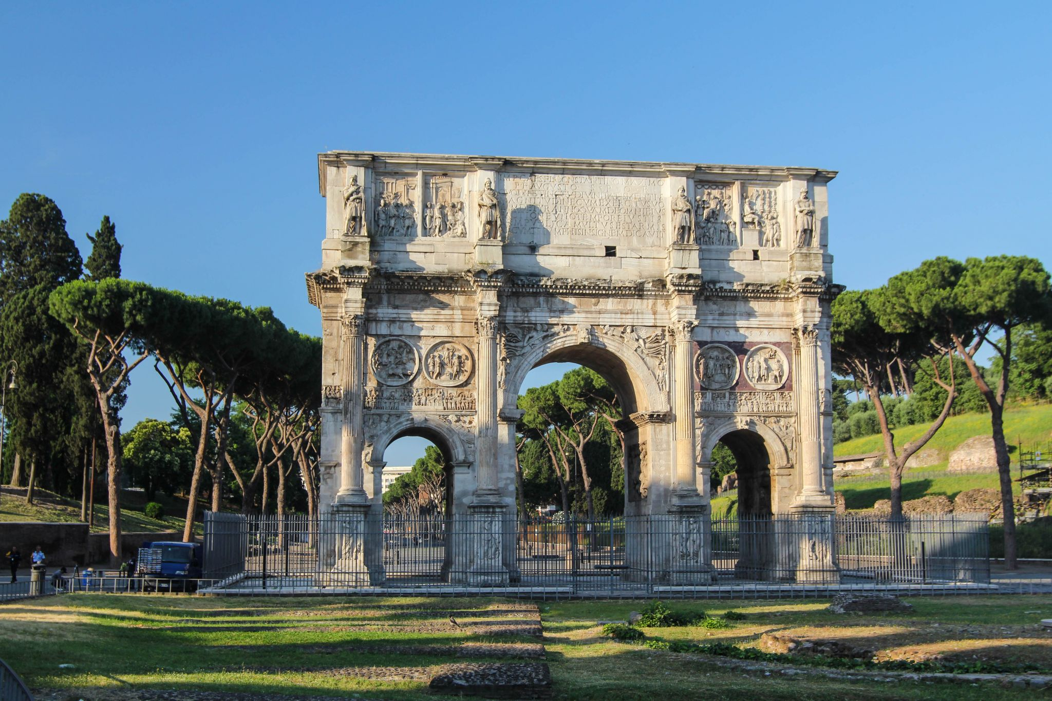 Arch of Constantine, Italy