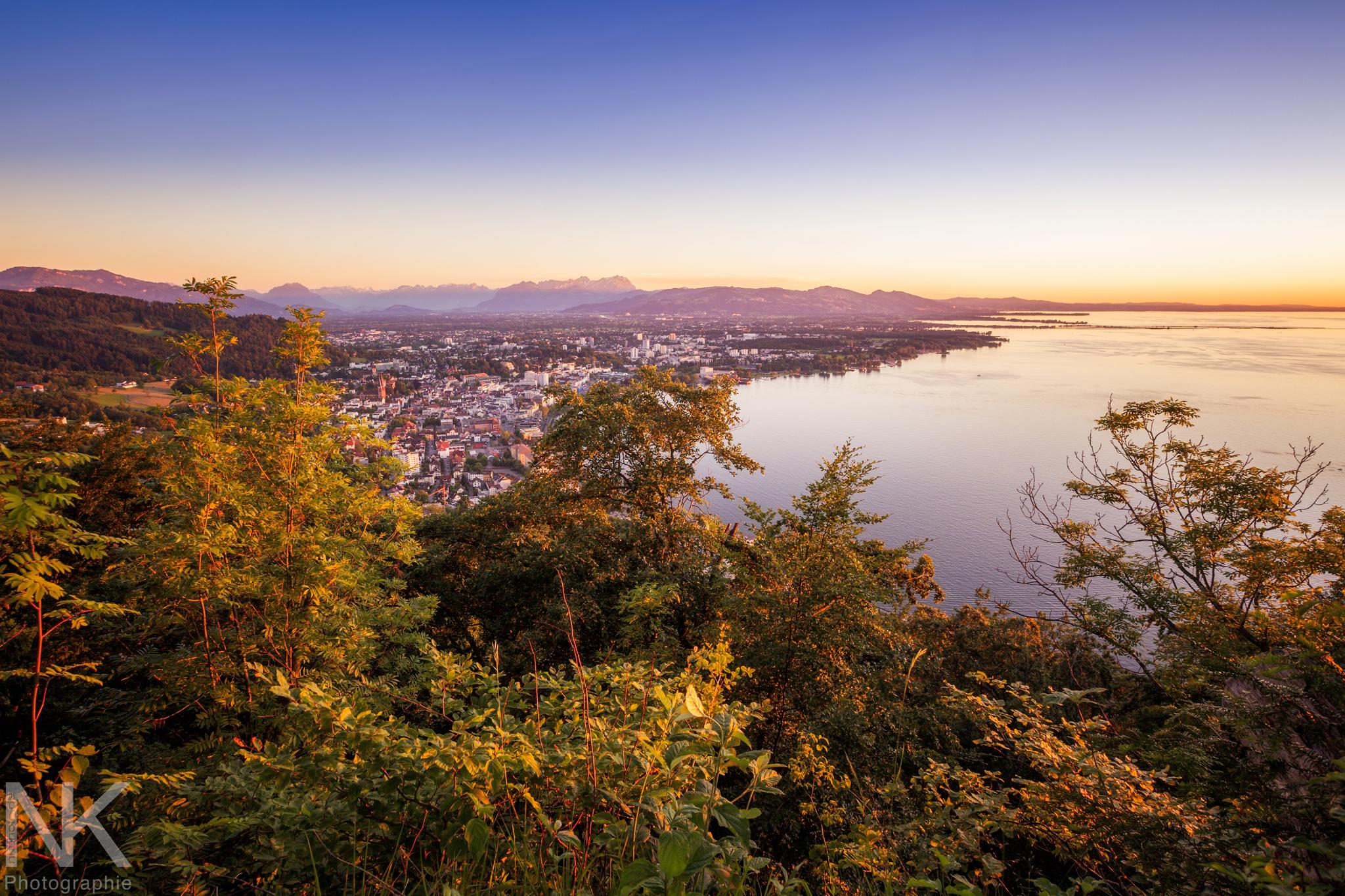 Bregenz view, Austria
