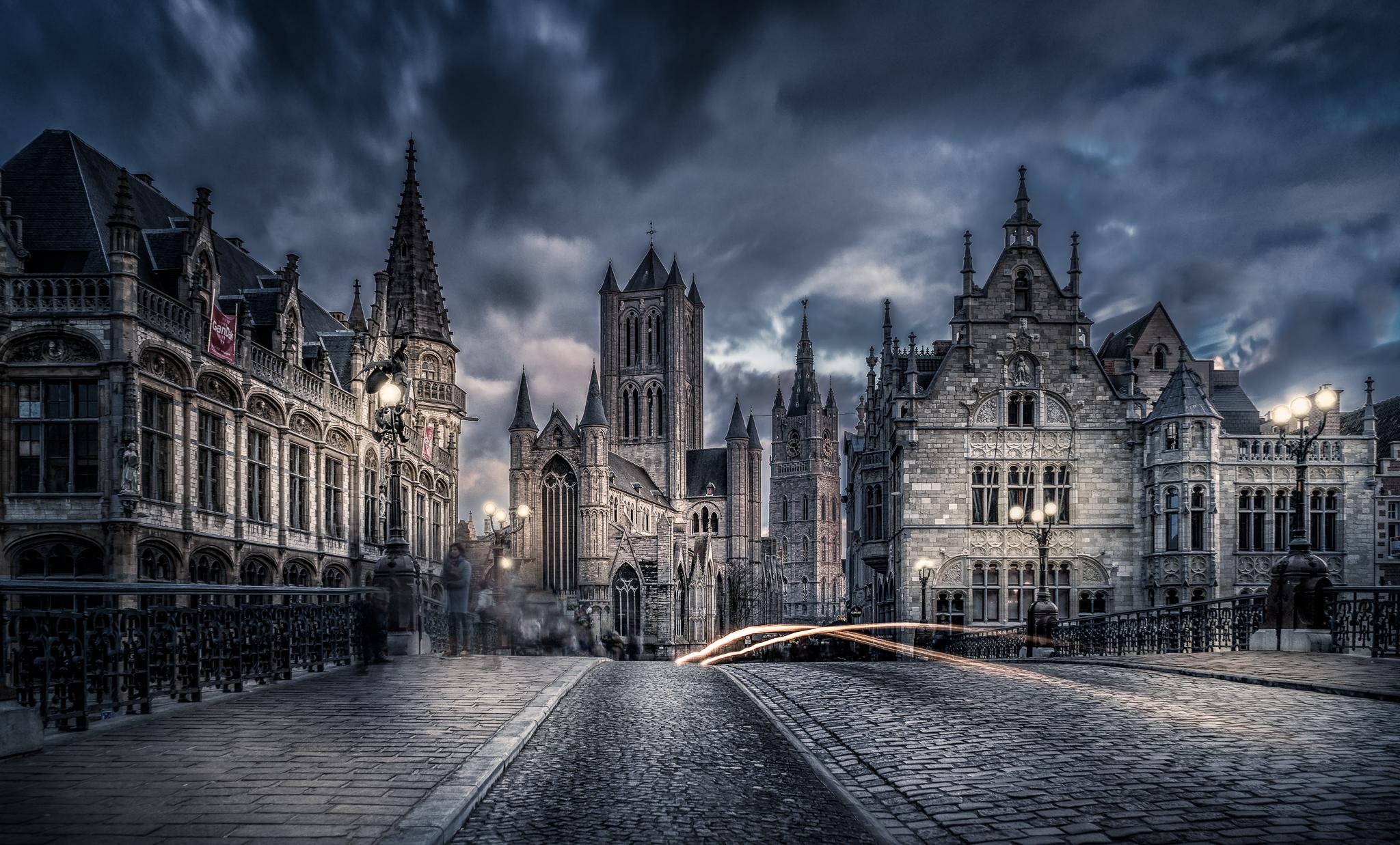 Bridge St-Michiels, Belgium