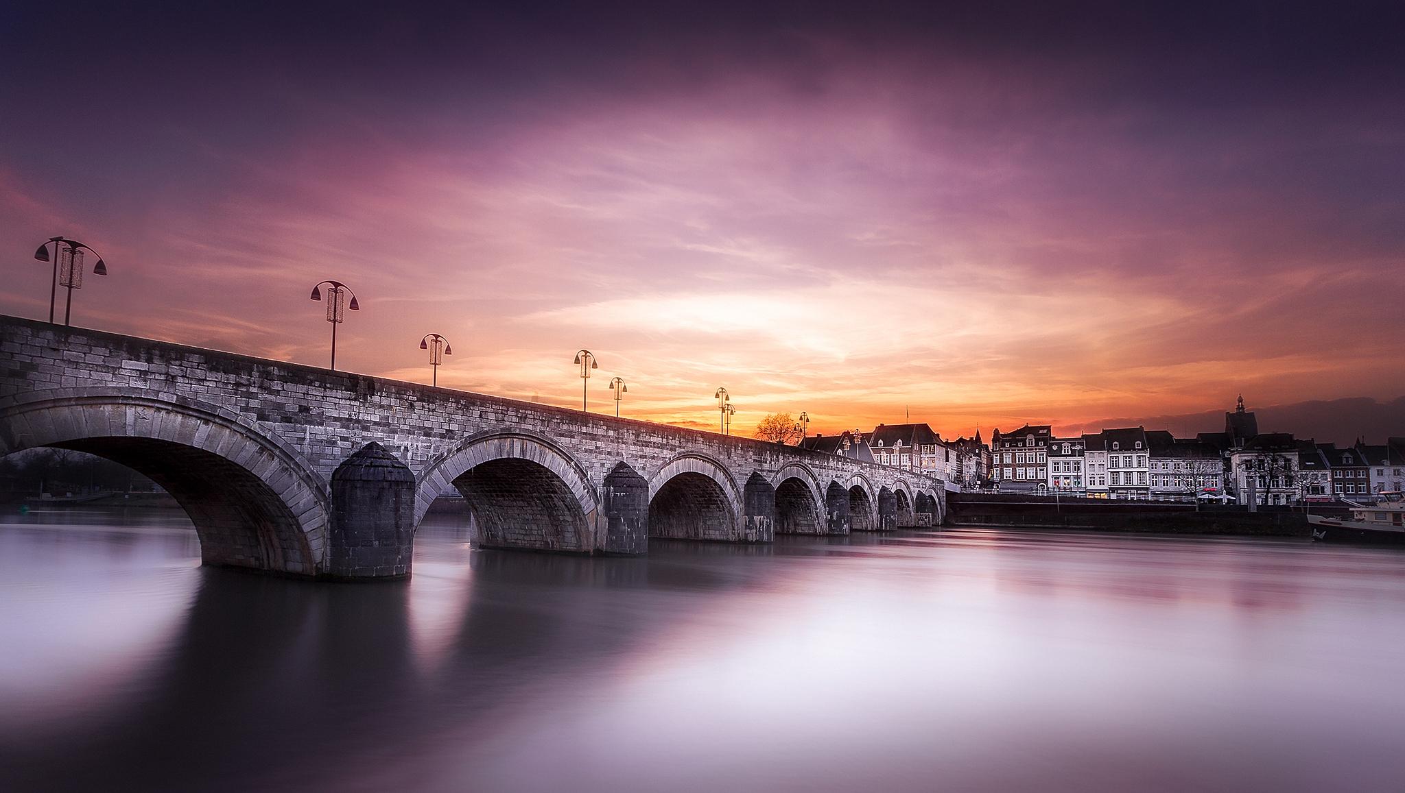 Bridge St Servaas, Netherlands