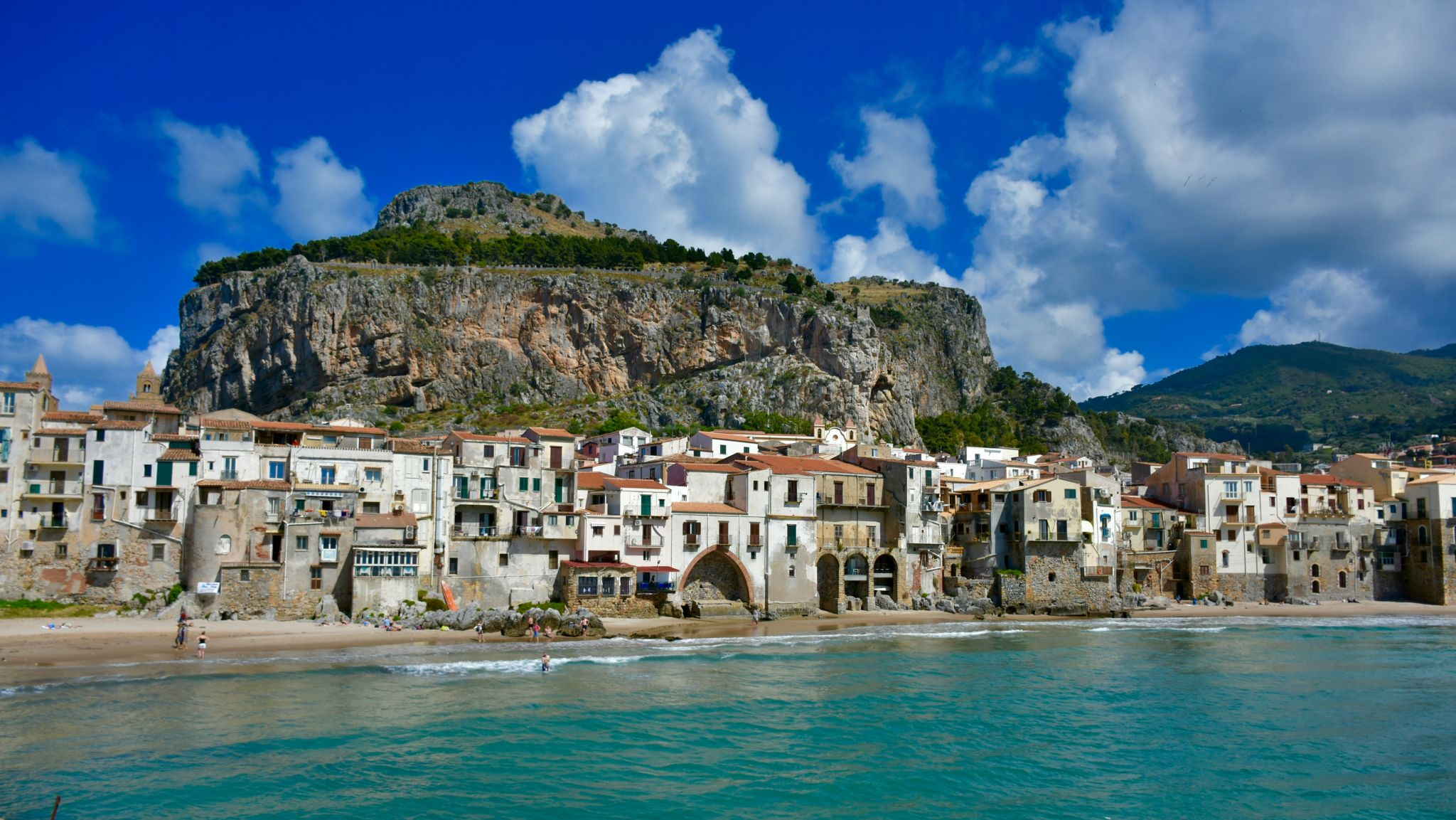 Cefalu's Waterfront, Italy
