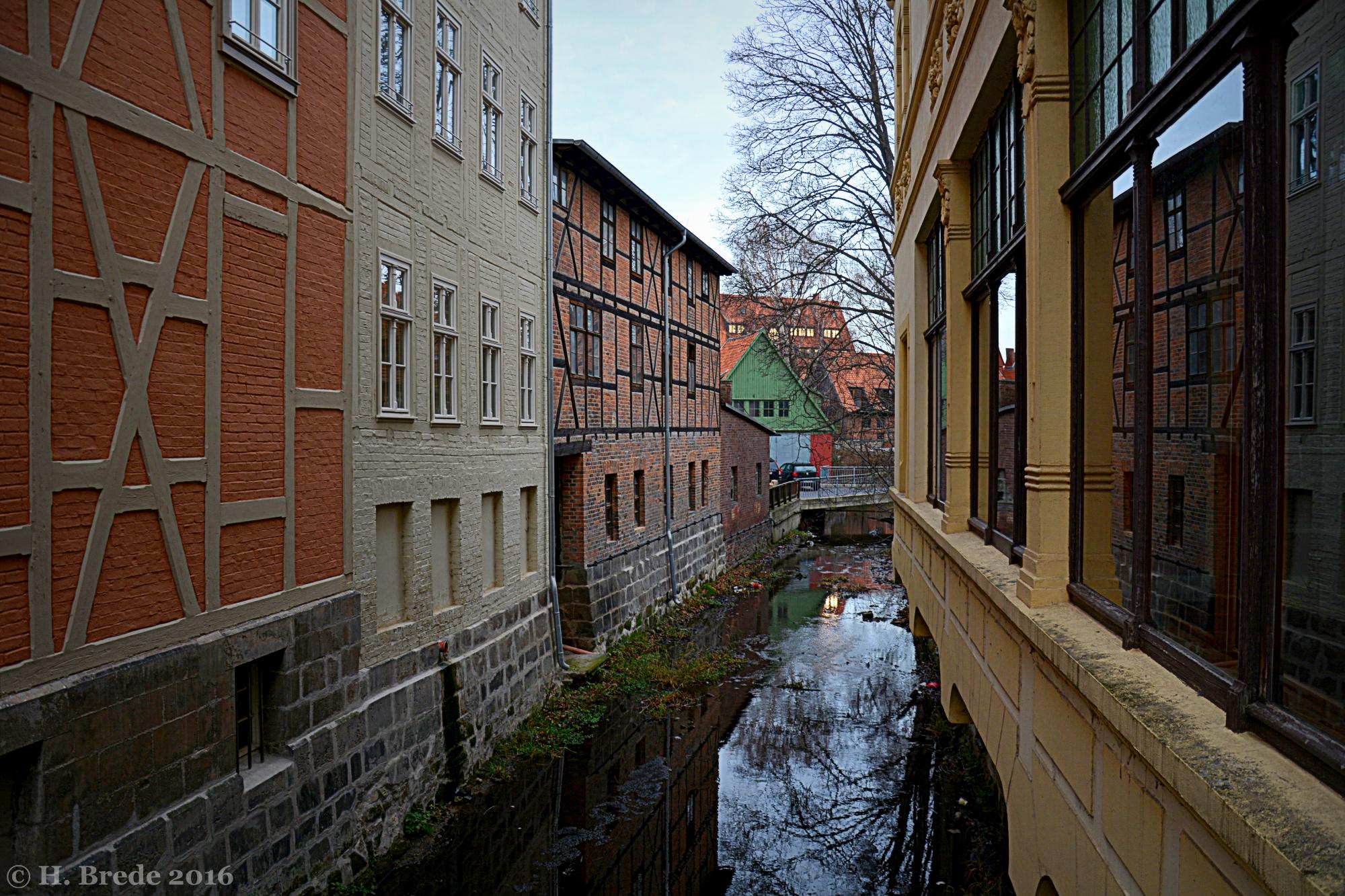 Dutch Ditch in Quedlingburg, Germany