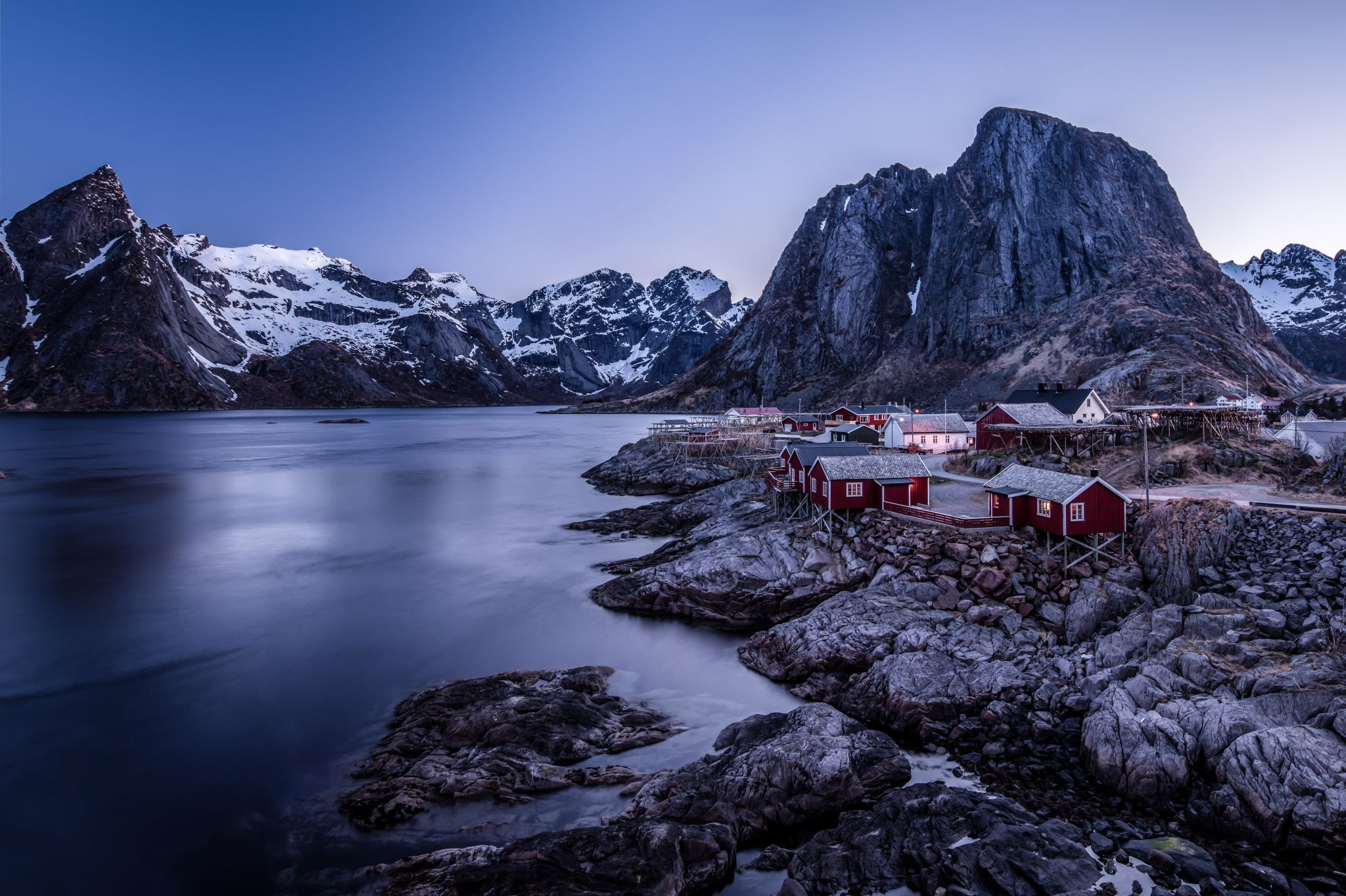 hamnoy at mornning, Norway