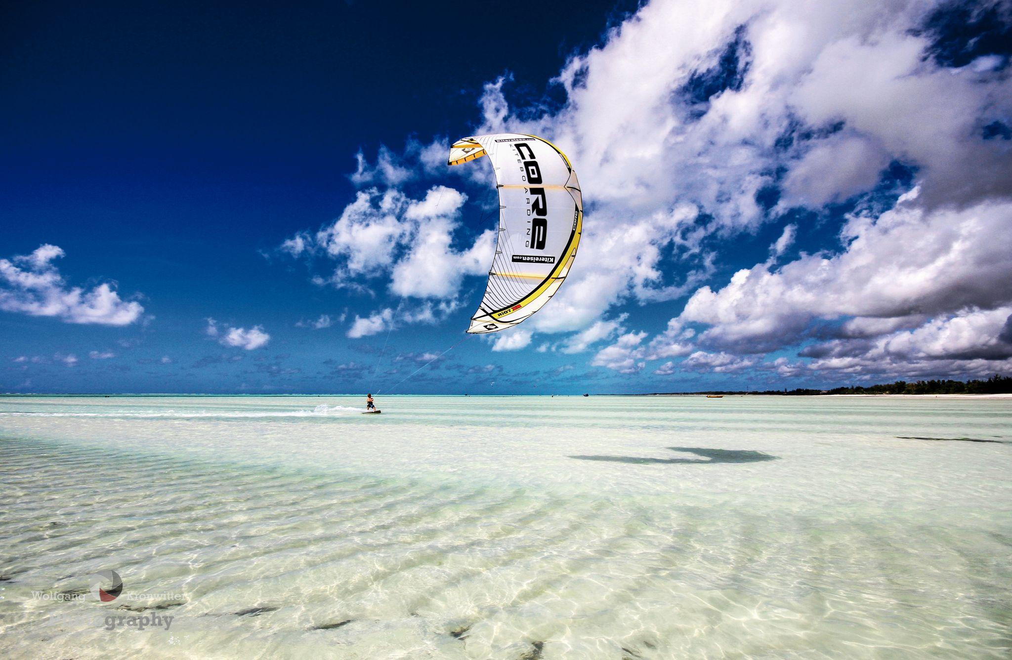 Kiters Paradise in Zanzibar, Tanzania