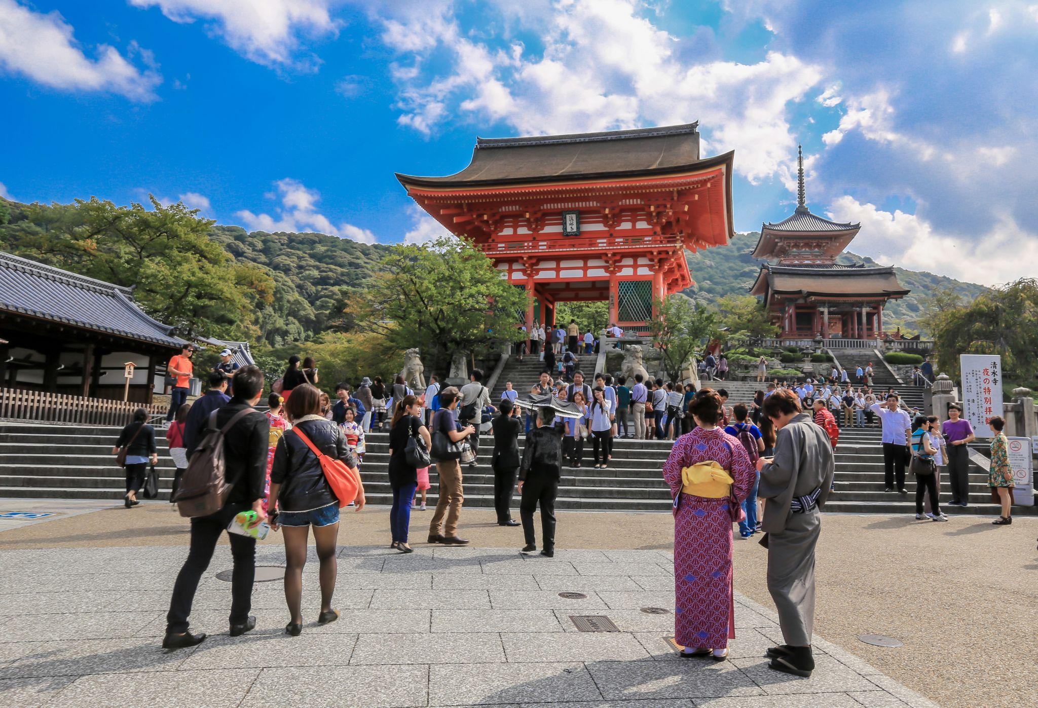 Kiyomizudera Temple, Japan