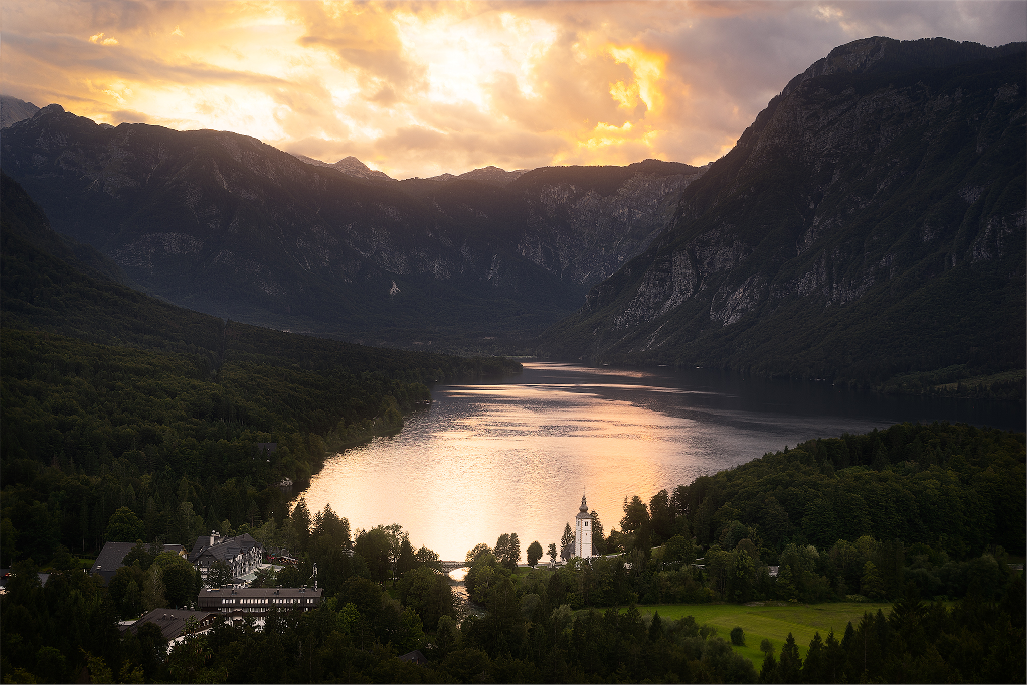 Lake Bohinj view point, Slovenia