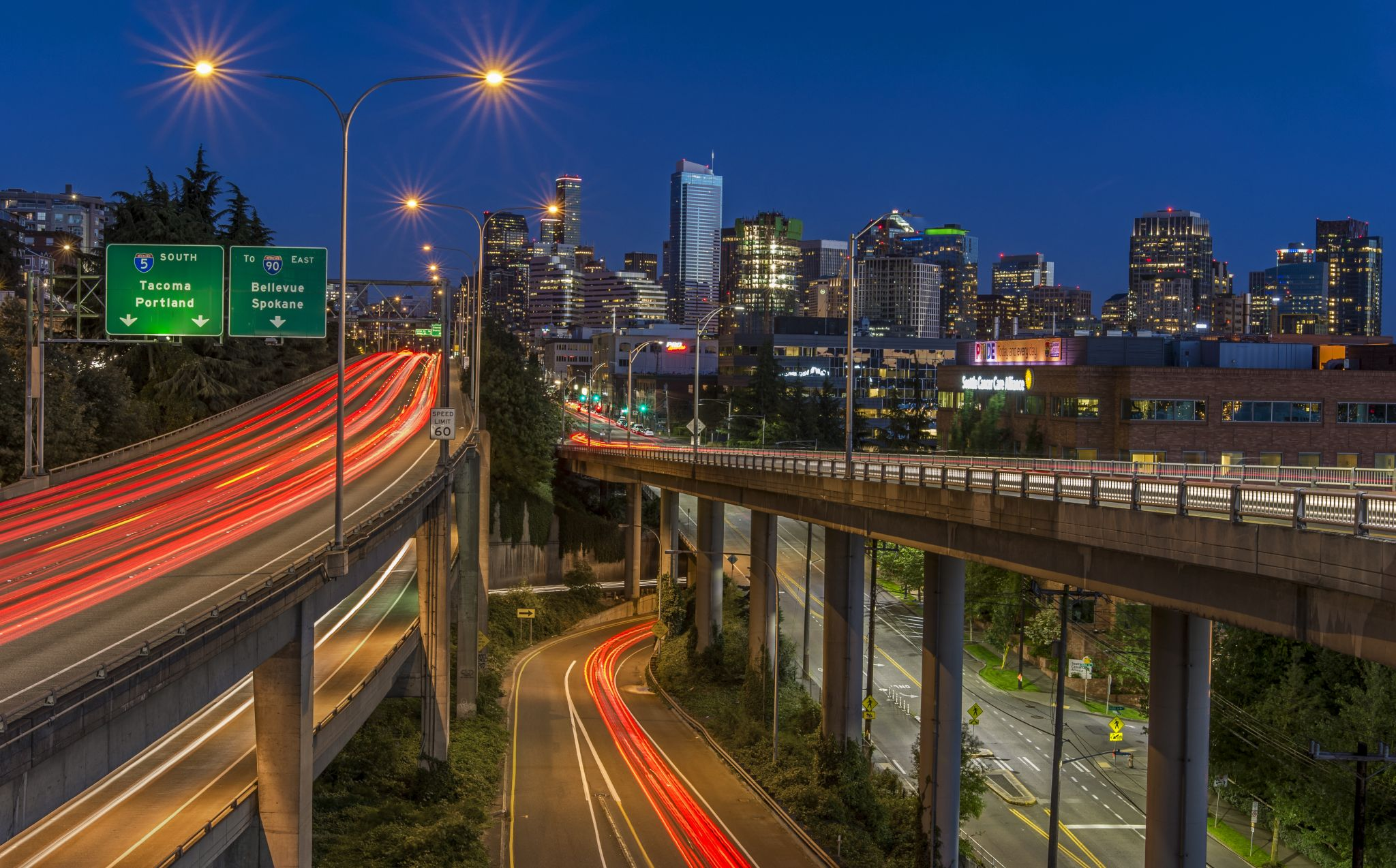 Lakeview Blvd Overpass, USA