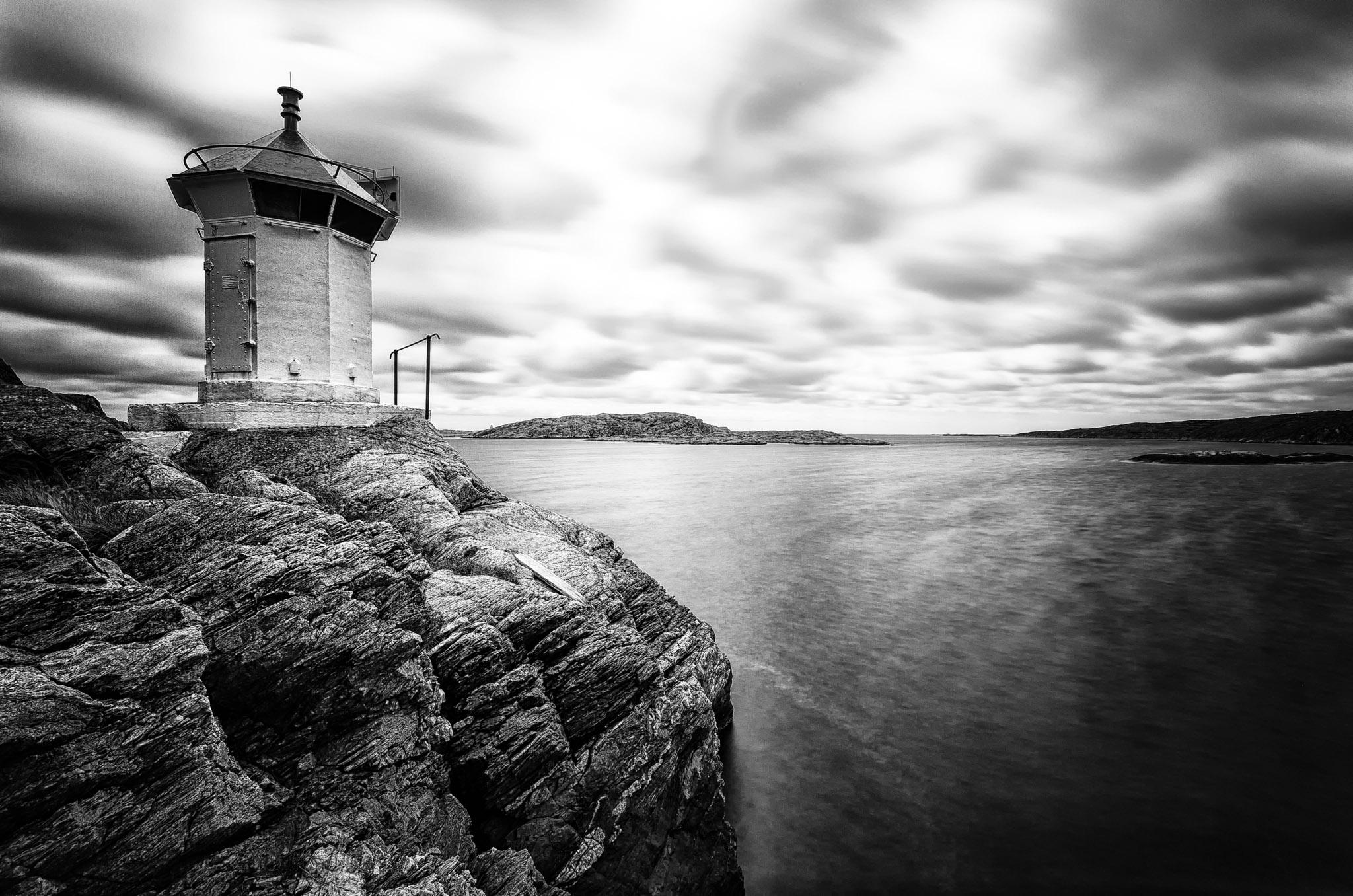 Lighthouse Skagerrak, Hälleviksstrand, Sweden