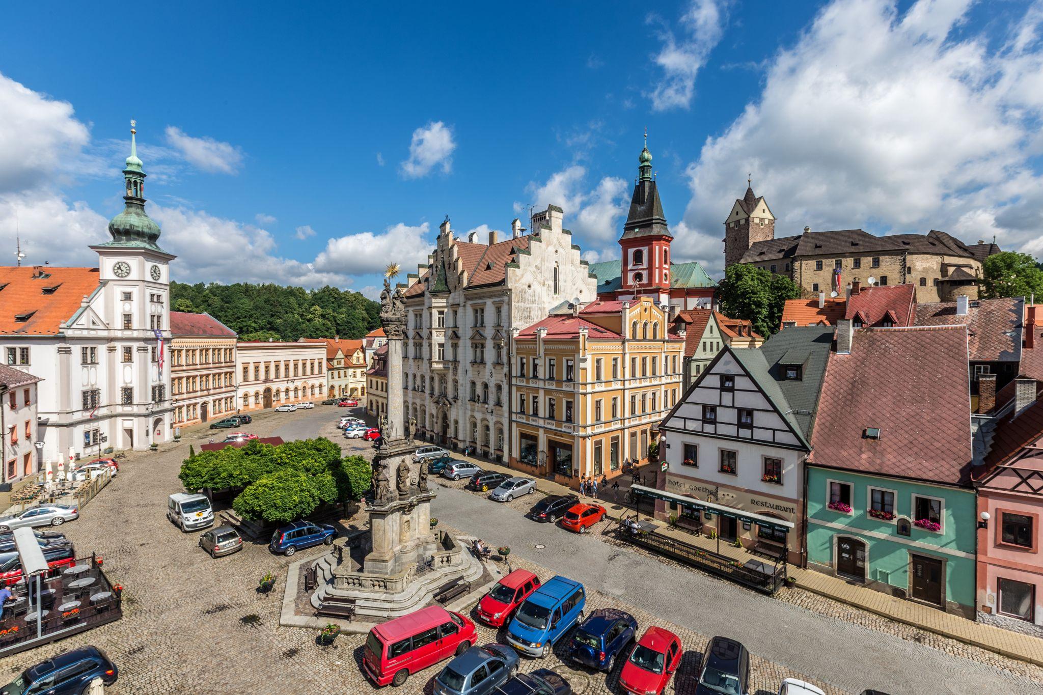 Loket Market, Czech Republic
