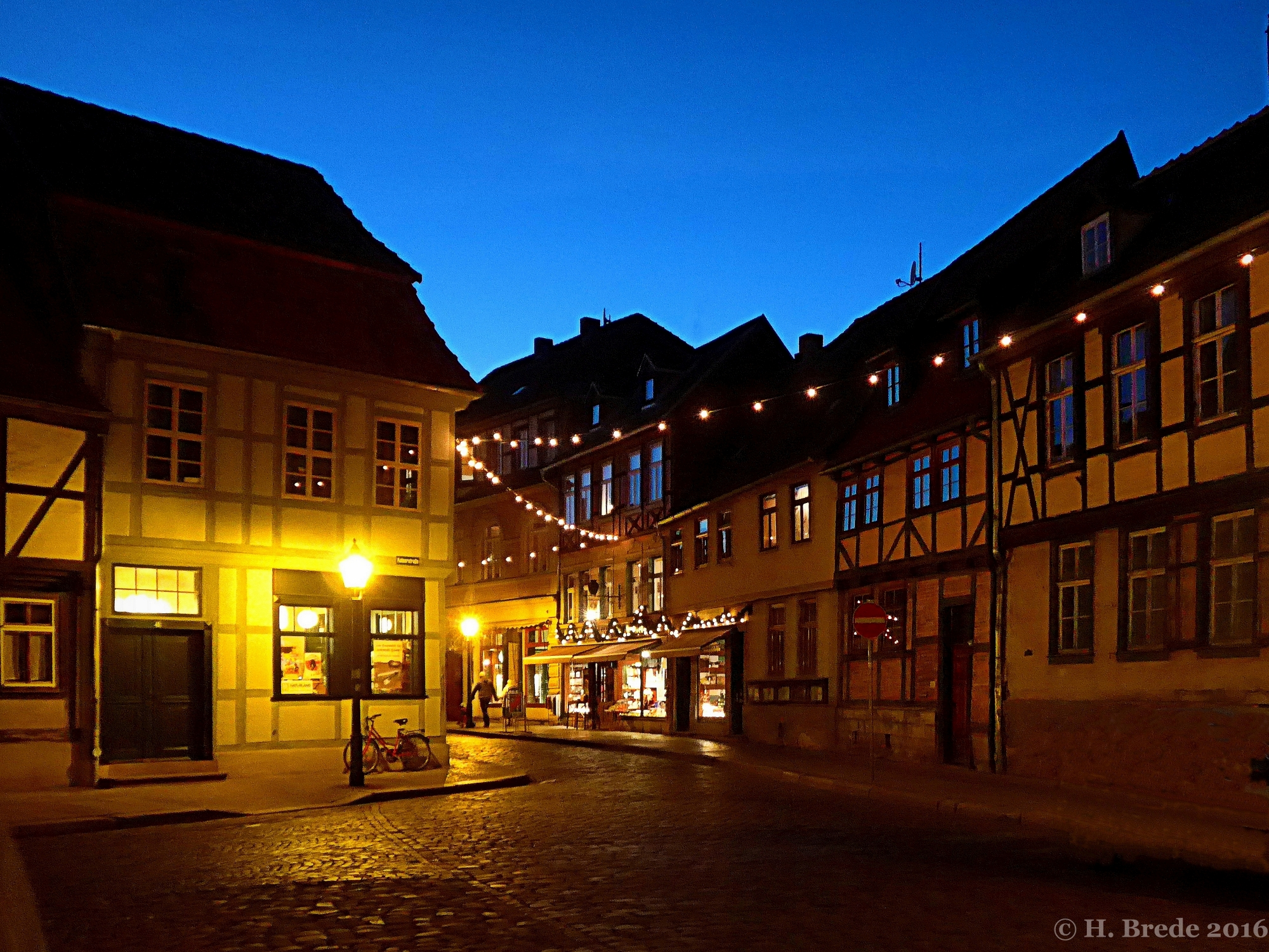 Night at Quedlingburg, Germany