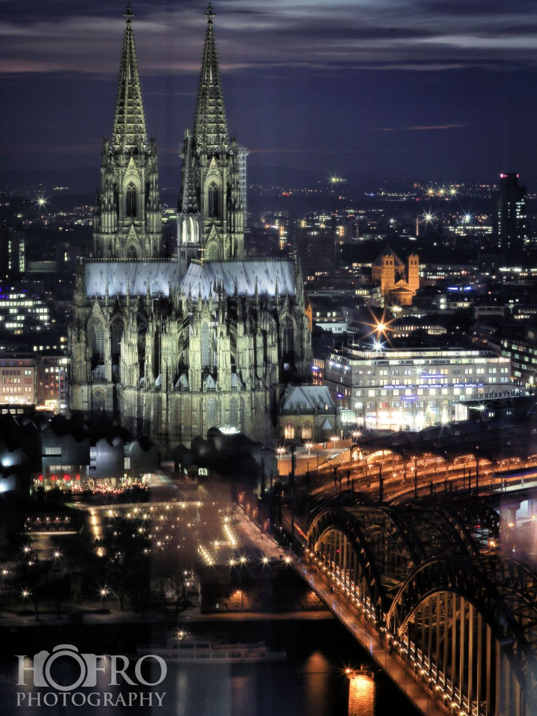 NightView of Cologne, Germany